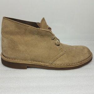 Clarks Bushacre 2 Sand Men's Size 8.5 Chukka Boots